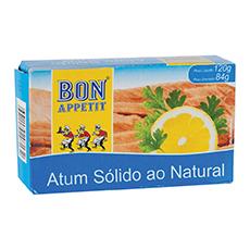 Bon Appetit atum solido ao natural 84g